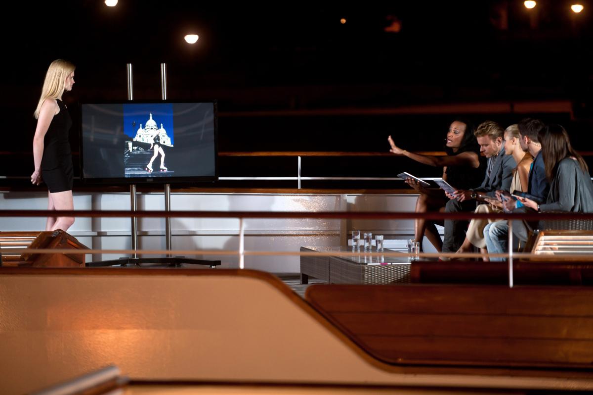 Jury ocenia zdjęcie Honoraty